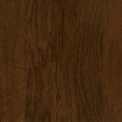 "Armstrong Performance Plus 5"" Acrylic-Infused Engineered Walnut Flooring in Earthy Shade"