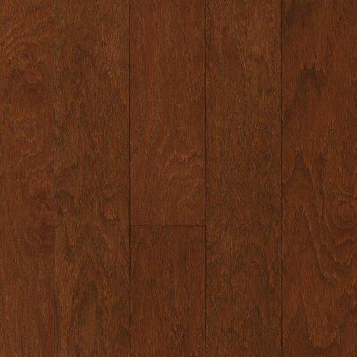 "Armstrong Performance Plus 5"" Acrylic-Infused Engineered Red Oak Flooring in Wood Berry"