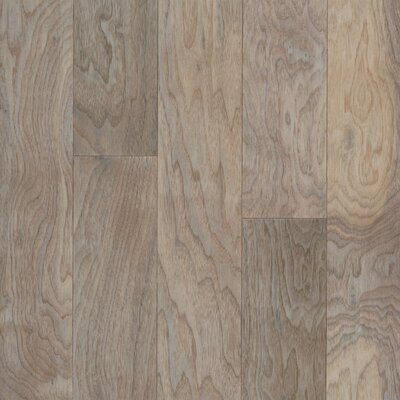 "Armstrong Performance Plus 5"" Acrylic-Infused Engineered Walnut Flooring in Shell White"