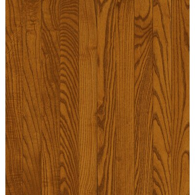 Bruce Flooring SAMPLE - Dundee™ Plank Solid Red / White Oak in Gunstock