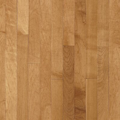 "Bruce Flooring Kennedale Strip 2-1/4"" Solid Light Maple Flooring in Caramel"