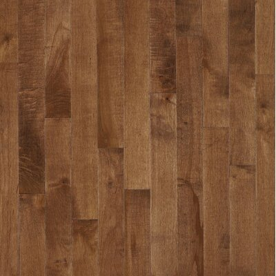 Bruce Flooring SAMPLE - Kennedale® Prestige Plank Solid Dark Maple in Hazelnut