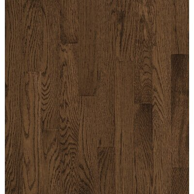 Bruce Flooring SAMPLE - Natural Choice™ Strip Low Gloss Solid White Oak in Walnut