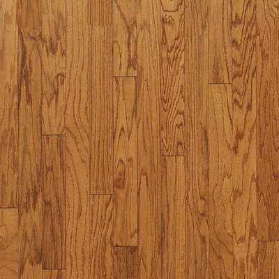 "Bruce Flooring Turlington Plank 5"" Engineered Red Oak Flooring in Butterscotch"