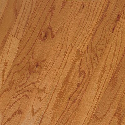 "Bruce Flooring Northshore Strip 2-1/4"" Engineered Red Oak Flooring in Butterscotch"