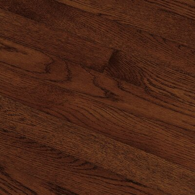 "Bruce Flooring Fulton Strip 2-1/4"" Solid Red / White Oak Flooring in Cherry"