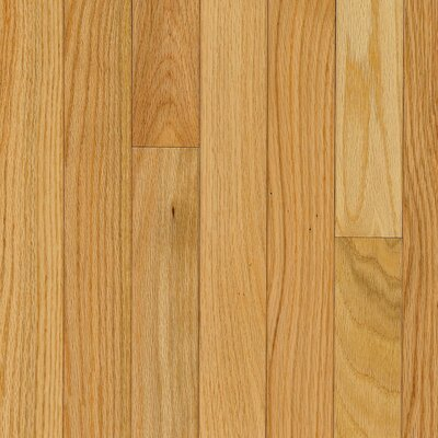 "Bruce Flooring Manchester Plank 3-1/4"" Solid Red Oak Flooring in Natural"