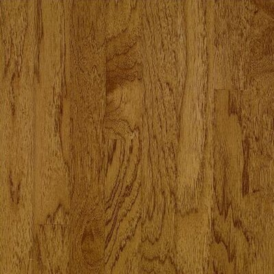 "Bruce Flooring American Treasures Wide Plank 4"" Solid Hickory Flooring in Oxford Brown"