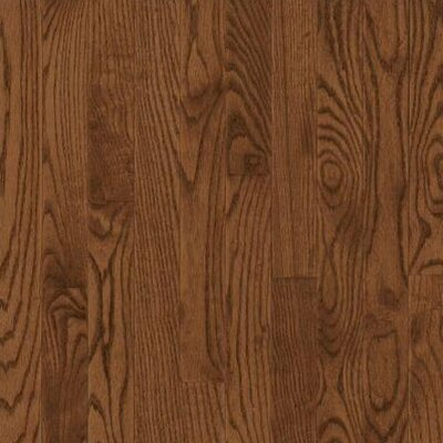 """Bruce Flooring Dundee Wide Plank 5"""" Solid Red Oak Flooring in Saddle"""