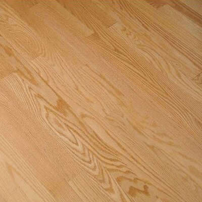 "Bruce Flooring Sterling Strip 2-1/4"" Solid Red Oak Flooring in Natural"
