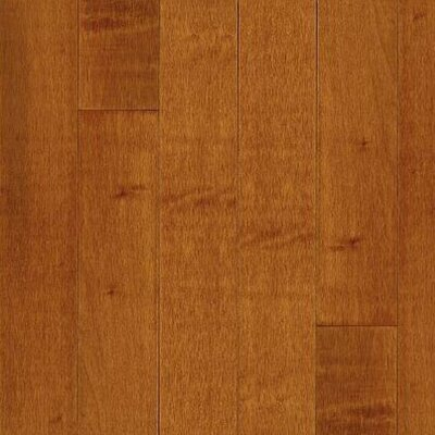 "Bruce Flooring Kennedale Prestige Wide Plank 5"" Solid Maple Flooring in Cinnamon"