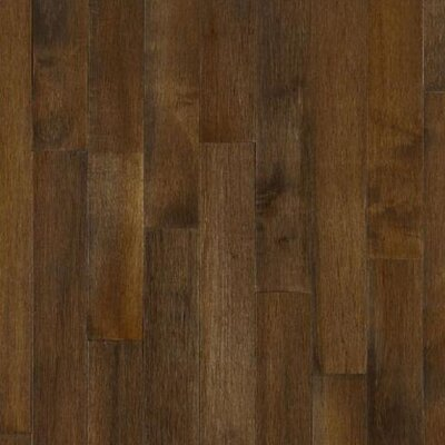 "Bruce Flooring Kennedale Prestige Wide Plank 5"" Solid Maple Flooring in Cappuccino"