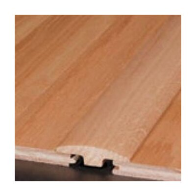 "Bruce Flooring 0.25"" x 2"" Maple T-Molding in Cherry/Garnet"