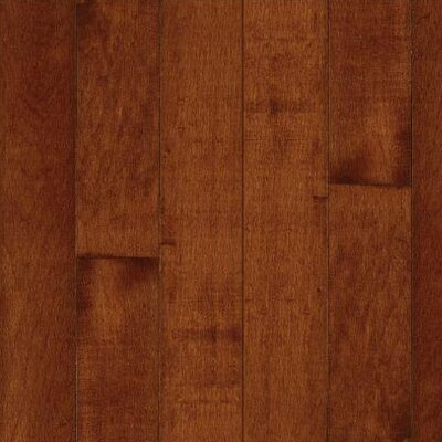 "Bruce Flooring Kennedale Prestige Wide Plank 5"" Solid Maple Flooring in Cherry"