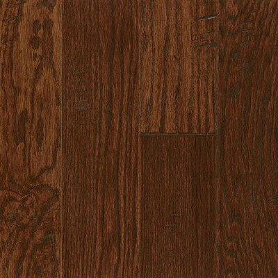 "Bruce Flooring Legacy Manor 5"" Engineered Oak Flooring in Burnt Cinnamon"