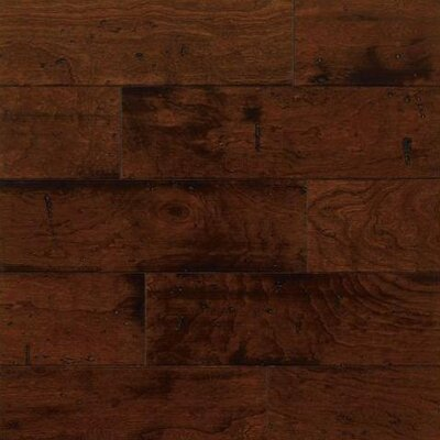 "Bruce Flooring American Vintage Lock and Fold 5"" Engineered Cherry Flooring in Sangria"