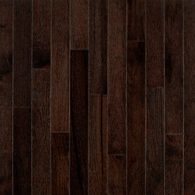 "Bruce Flooring American Treasures Strip 2-1/4"" Solid Hickory Flooring in Frontier Shadow"