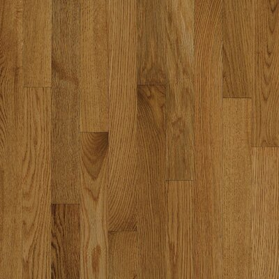 "Bruce Flooring Natural Choice Strip Low Gloss 2-1/4"" Solid White Oak Flooring in Spice"