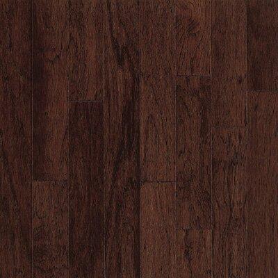 "Bruce Flooring Turlington American Exotics 5"" Engineered Hickory Flooring in Molasses"