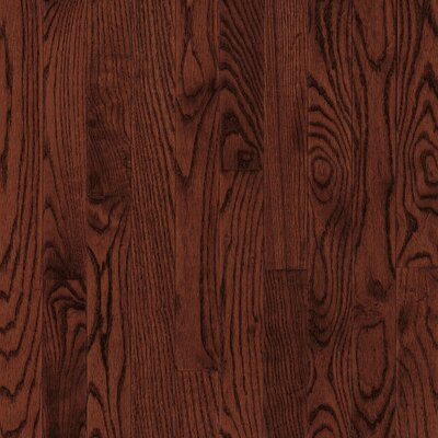 "Bruce Flooring Natural Choice Strip 2-1/4"" Solid Light / Dark Ash Flooring in Cherry"