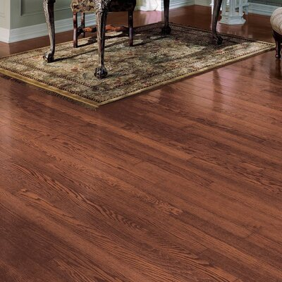 "Bruce Flooring Northshore Plank 3"" Engineered Red Oak Flooring in Vintage Brown"