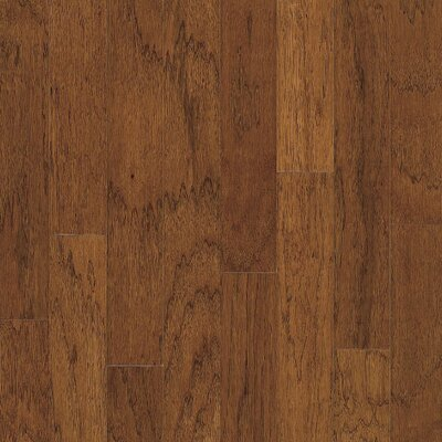 "Bruce Flooring Turlington 5"" Engineered Hickory Flooring in Falcon Brown"
