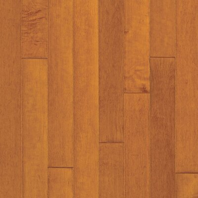 "Bruce Flooring Turlington American Exotics 5"" Engineered Maple Flooring in Cinnamon"