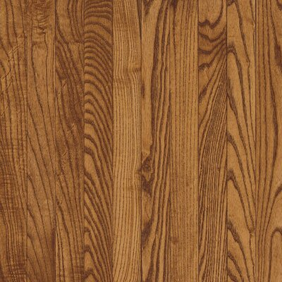 "Bruce Flooring Westchester 3-1/4"" Solid Oak Flooring in Gunstock"