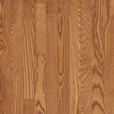 "Bruce Flooring Dundee Strip 2-1/4"" Solid Red Oak Flooring in Butterscotch"