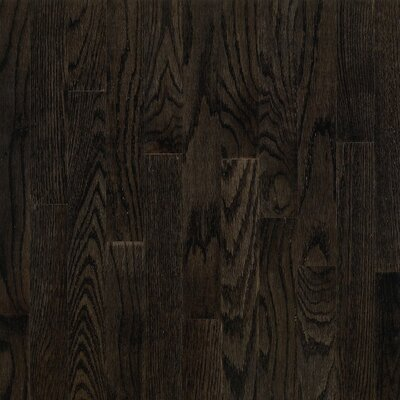 "Bruce Flooring Dundee Plank 3-1/4"" Solid Red Oak Flooring in Espresso"