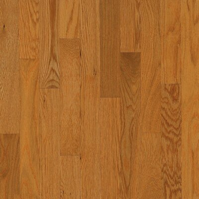 "Bruce Flooring Dundee Strip 2-1/4"" Solid White Oak Flooring in Butter Rum"