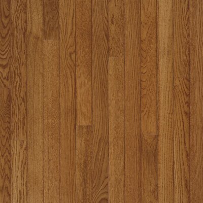 "Bruce Flooring Fulton Strip 2-1/4"" Solid White Oak Flooring in Fawn"