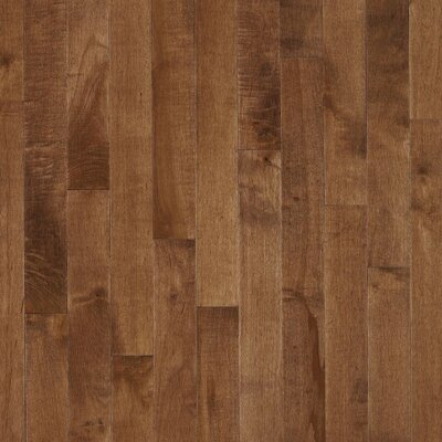 "Bruce Flooring Kennedale Prestige Plank 3-1/4"" Solid Dark Maple Flooring in Hazelnut"
