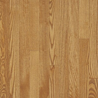"Bruce Flooring Dundee Strip 2-1/4"" Solid White Oak Flooring in Dune"