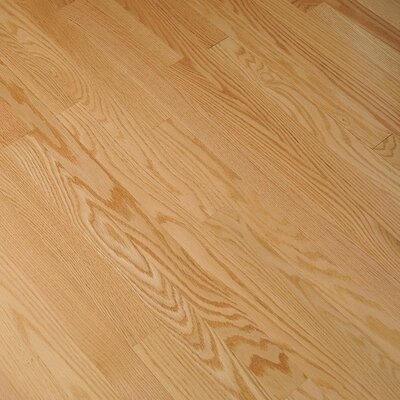 "Bruce Flooring Fulton Plank 3-1/4"" Solid Red Oak Flooring in Natural"