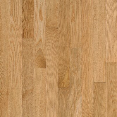 """Bruce Flooring Natural Choice Strip 2-1/4"""" Solid Red Oak Flooring in Natural"""