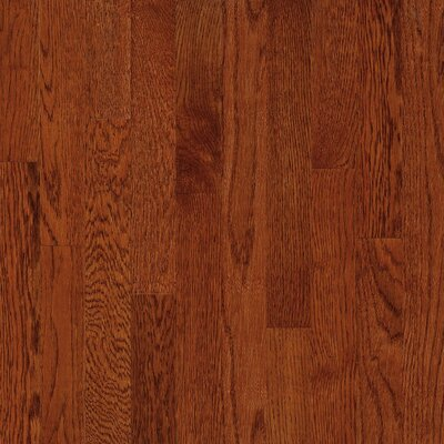 "Bruce Flooring Natural Choice Strip 2-1/4"" Solid White Oak Flooring in Amber"