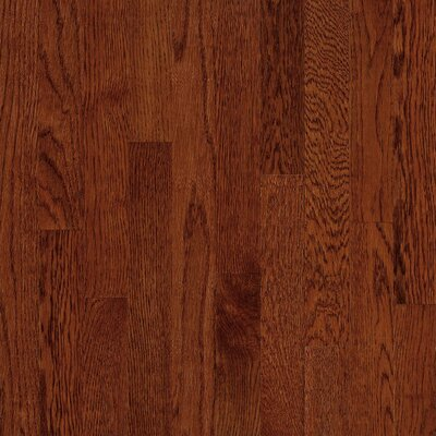 "Bruce Flooring Natural Choice Strip 2-1/4"" Solid Red / White Oak Flooring in Cherry"