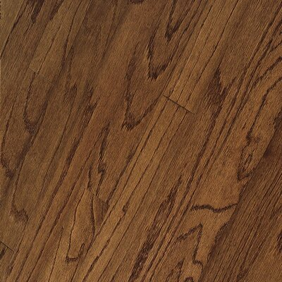 "Bruce Flooring Springdale Plank 3"" Engineered Red Oak Flooring in Saddle"