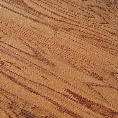 """Bruce Flooring Northshore Plank 3"""" Engineered Red Oak Flooring in Gunstock"""