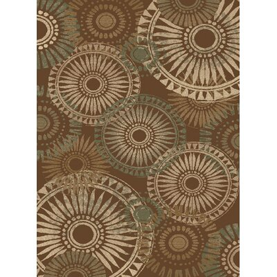 Central Oriental Encore Rondelle Medium Brown Rug