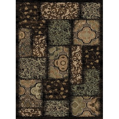 Central Oriental Encore Phineas Dark Wine Rug