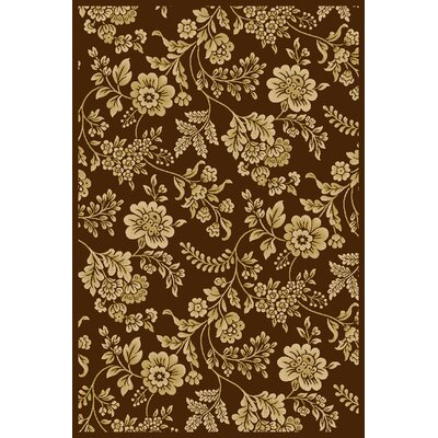 Central Oriental Interlude Juniper Brown Rug