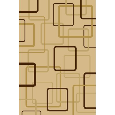 Central Oriental Interlude Circuitry Ivory Rug