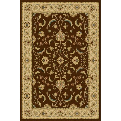 Central Oriental Interlude Atelier Brown Rug
