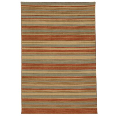 Pura Vida Sea Green/Rust Rug