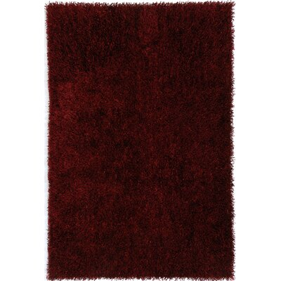 Flux Red Shag Rug