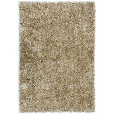 Flux Warm Gray Shag Rug