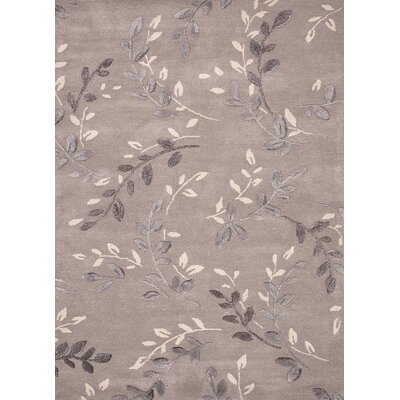 Blue Gray Abstract Rug