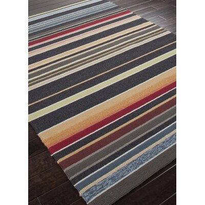 Jaipur Rugs Colours I-O Charcoal Stripe Indoor/Outdoor Rug